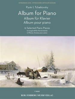 Album pour piano - Piotr Illitch Tchaikovsky - laflutedepan.com