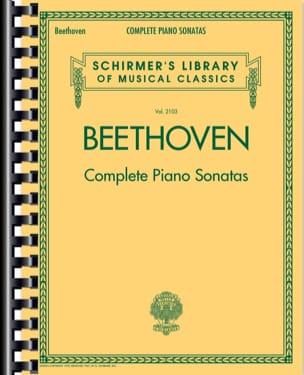 BEETHOVEN - Intégrale Sonates pour piano - Partition - di-arezzo.fr