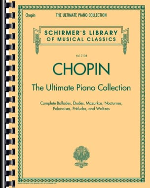The ultimate piano collection - Frédéric Chopin - laflutedepan.com