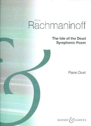 Sergei Rachmaninov - The Isle of the dead op. 29. 4 mains - Partition - di-arezzo.fr