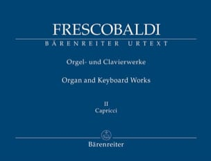 Girolamo Frescobaldi - Oeuvres pour orgue et clavier. Volume 2 - Partition - di-arezzo.fr