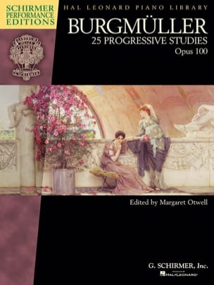 25 études progressives op. 100 Frédéric Burgmuller laflutedepan