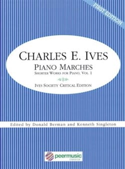 Piano marches - Charles Ives - Partition - Piano - laflutedepan.com