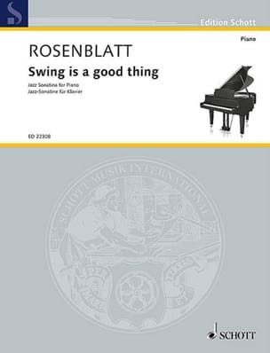 Alexander Rosenblatt - Swing is a good thing - Partition - di-arezzo.fr