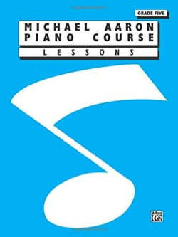 AARON - Piano Method Volume 5 - Partition - di-arezzo.co.uk