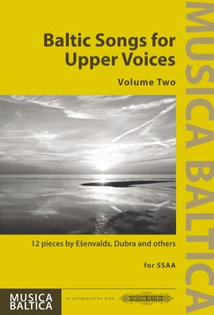 - Baltic Songs for Upper Voices. Volume 2 - Partition - di-arezzo.fr