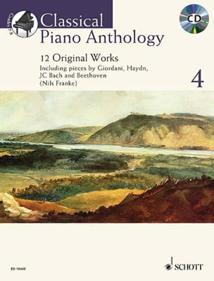 - Classical Piano Anthology. Volume 4 - Partition - di-arezzo.fr