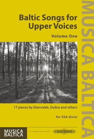 - Baltic Songs for Upper Voices. Volume 1 - Partition - di-arezzo.fr