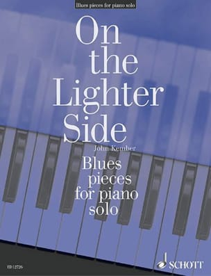 Blues pieces for piano solo John Kember Partition Piano - laflutedepan