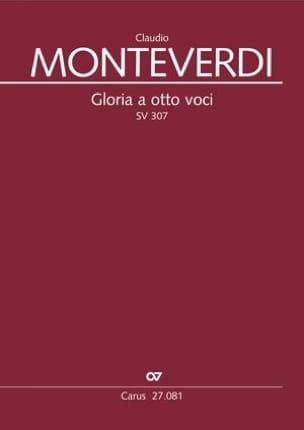 Claudio Monteverdi - Gloria a otto voci SV 307 - Partition - di-arezzo.fr
