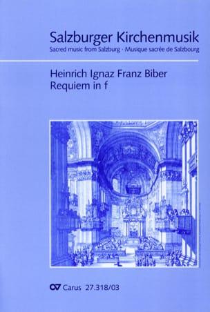 Requiem en fa mineur - Heinrich Ignaz Franz Biber - laflutedepan.com