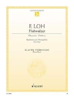 Flohwalzer. 4 mains - Ferdinand Loh - Partition - laflutedepan.com