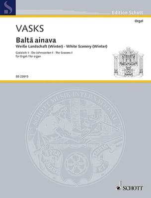 Balta ainava - Peteris Vasks - Partition - Orgue - laflutedepan.com