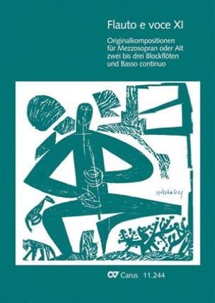 - Flauto E Voce. Volume 11 - Partition - di-arezzo.fr
