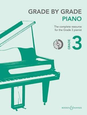Grade by grade piano. Volume 3 - Partition - laflutedepan.com