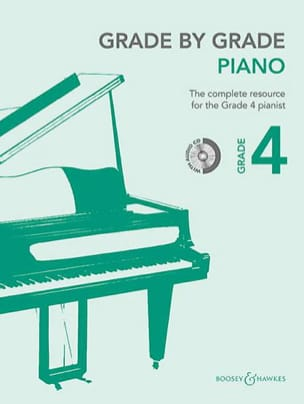 Grade by grade piano. Volume 4 - Partition - laflutedepan.com