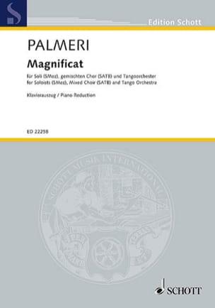 Magnificat Martin Palmeri Partition Chœur - laflutedepan
