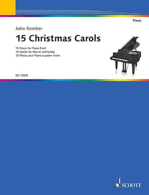 15 Christmas carols Partition Piano - laflutedepan
