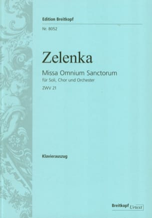 Jan Dismas Zelenka - Missa Omnium Sanctorum Zwv 21 - Sheet Music - di-arezzo.co.uk