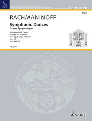 RACHMANINOV - Symphonic dances op. 45. - Sheet Music - di-arezzo.co.uk
