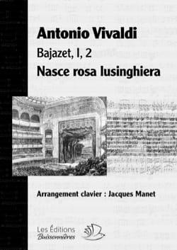VIVALDI - Nasce rosa lusinghiera. Bajazet - Sheet Music - di-arezzo.com