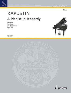 A pianist in Jeopardy op. 152 Nikolai Kapustin Partition laflutedepan