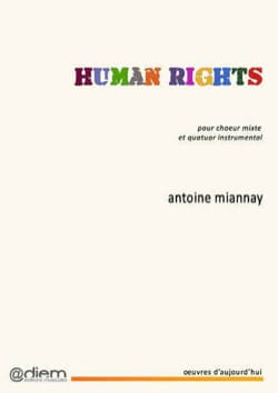 Antoine Miannay - Human Rights - Partition - di-arezzo.fr