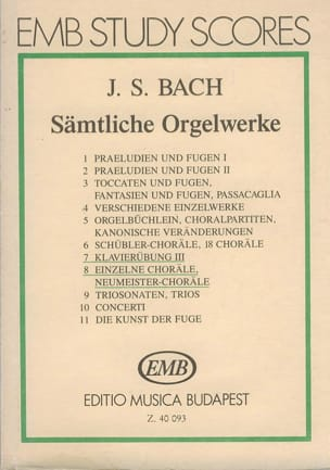 BACH - Sämtliche Orgelwerke IV. POACHED - Sheet Music - di-arezzo.co.uk