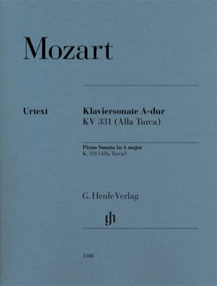 MOZART - Sonata in A Major (K331) - Sheet Music - di-arezzo.com