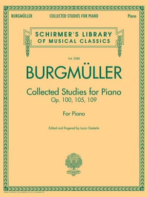 Frédéric Burgmuller - Collected studies - Sheet Music - di-arezzo.co.uk