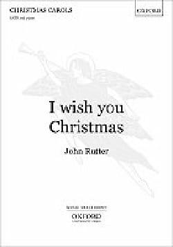 John Rutter - I Wish you Chritsmas - Sheet Music - di-arezzo.com