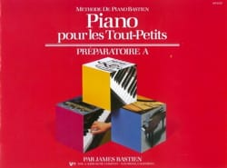 BASTIEN - Piano for toddlers - Preparatory A - Sheet Music - di-arezzo.co.uk