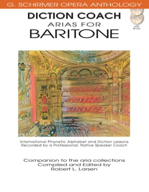 Diction Coach Arias Baryton + 2 CD - Partition - di-arezzo.fr