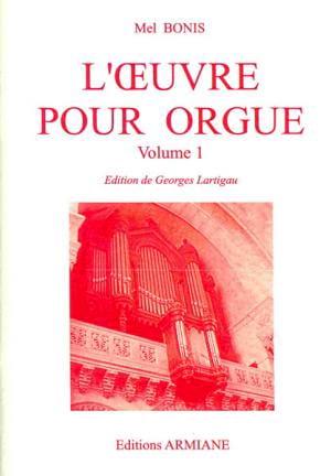 Mel Bonis - Oeuvre pour orgue Volume 1 - Partition - di-arezzo.fr