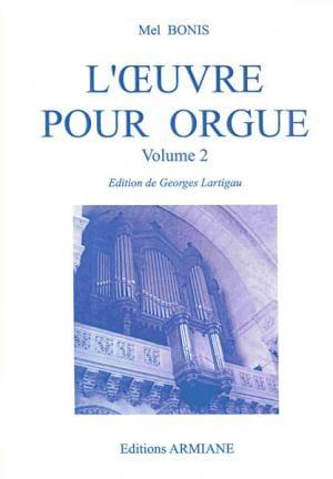 Oeuvre pour orgue Volume 2 Mel Bonis Partition Orgue - laflutedepan