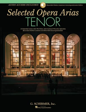 - Selected Opera Arias. Ténor - Partition - di-arezzo.fr