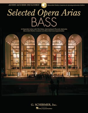 Selected Operas Arias. Basse - Partition - laflutedepan.com