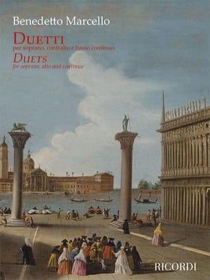 Duetti Benedetto Marcello Partition Duos - laflutedepan
