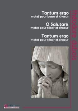 Théodore Dubois - 3 sacred pieces - Sheet Music - di-arezzo.com