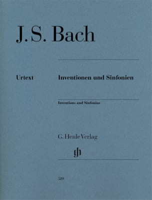 BACH - Inventions A 2 And 3 Voices - Sheet Music - di-arezzo.co.uk