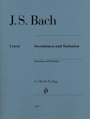 BACH - Inventionen und Sinfonien - Partition - di-arezzo.fr