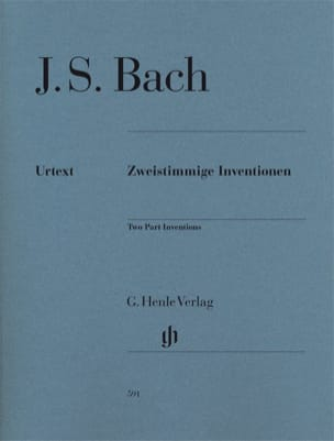 BACH - Inventionen Bwv 772-786 - Sheet Music - di-arezzo.co.uk