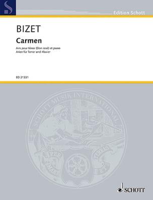 Georges Bizet - Carmen. Ténor - Partition - di-arezzo.fr