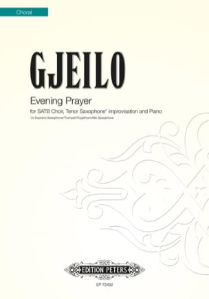 Ola Gjeilo - Evening Prayer - Sheet Music - di-arezzo.com