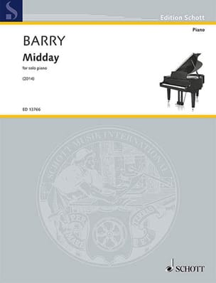 Midday Gerald Barry Partition Piano - laflutedepan