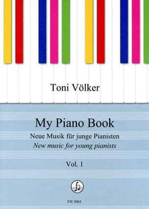 Toni Völker - My piano Book. Volume 1 - Sheet Music - di-arezzo.com