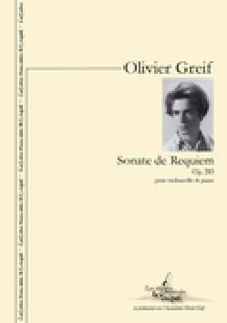 Olivier Greif - Sonate de guerre n° 15 op. 54 - Partition - di-arezzo.fr