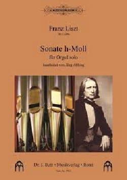 Sonate h-Moll LISZT Partition Orgue - laflutedepan