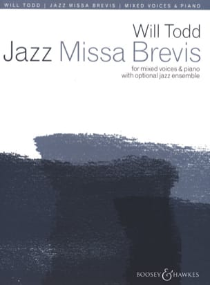 Will Todd - Jazz Missa Brevis - Partition - di-arezzo.fr