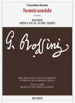 Gioachino Rossini - Semiramide. Critical Edition (2 volumes) - Sheet Music - di-arezzo.co.uk